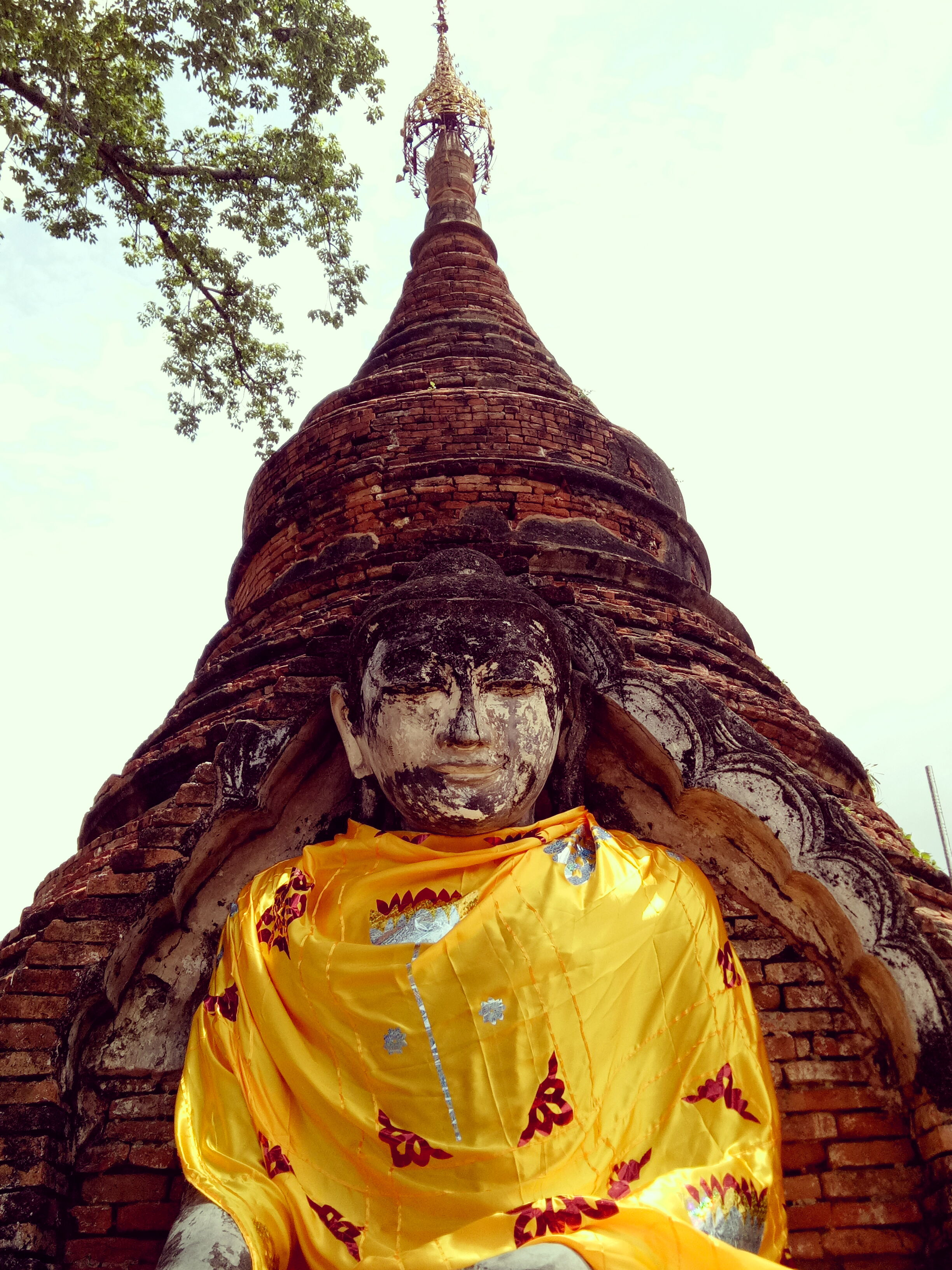 Bouddha sur l'Ile d'Ava