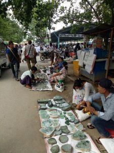 Marché de jade Mandalay 2