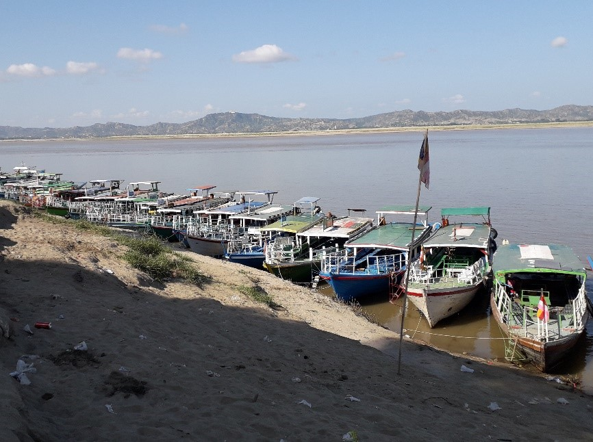 Port de bagan Irrawaddy